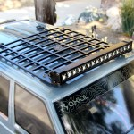 1 10 Rc Metal Luggage Roof Rack W Led Light Bar For Rc 4wd Axial Crawler Truck Other Rc Parts Accessories