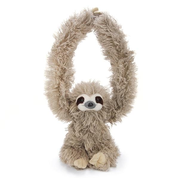 hanging sloth stuffed animal