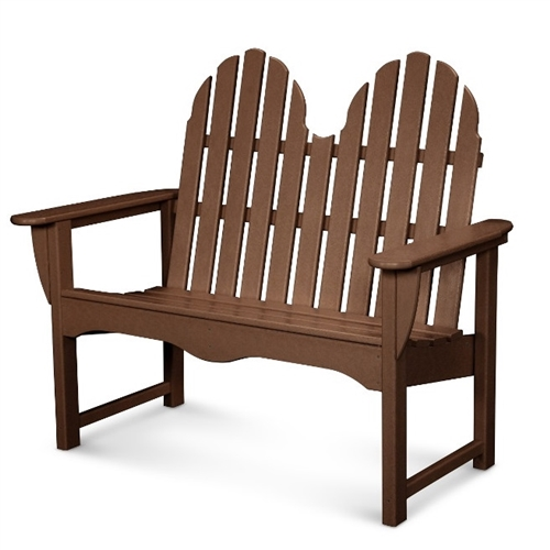 polywood classic adirondack chair high quality camping chairs 48 bench
