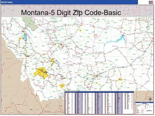 Bozeman Mt Zip Code Map