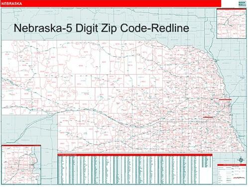 Nebraska Zip Codes Map Zip Code MAP