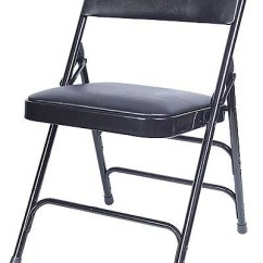 Wholesale Folding Chairs Kmart High Chair Black Padded Metal Vinyl Larger Photo