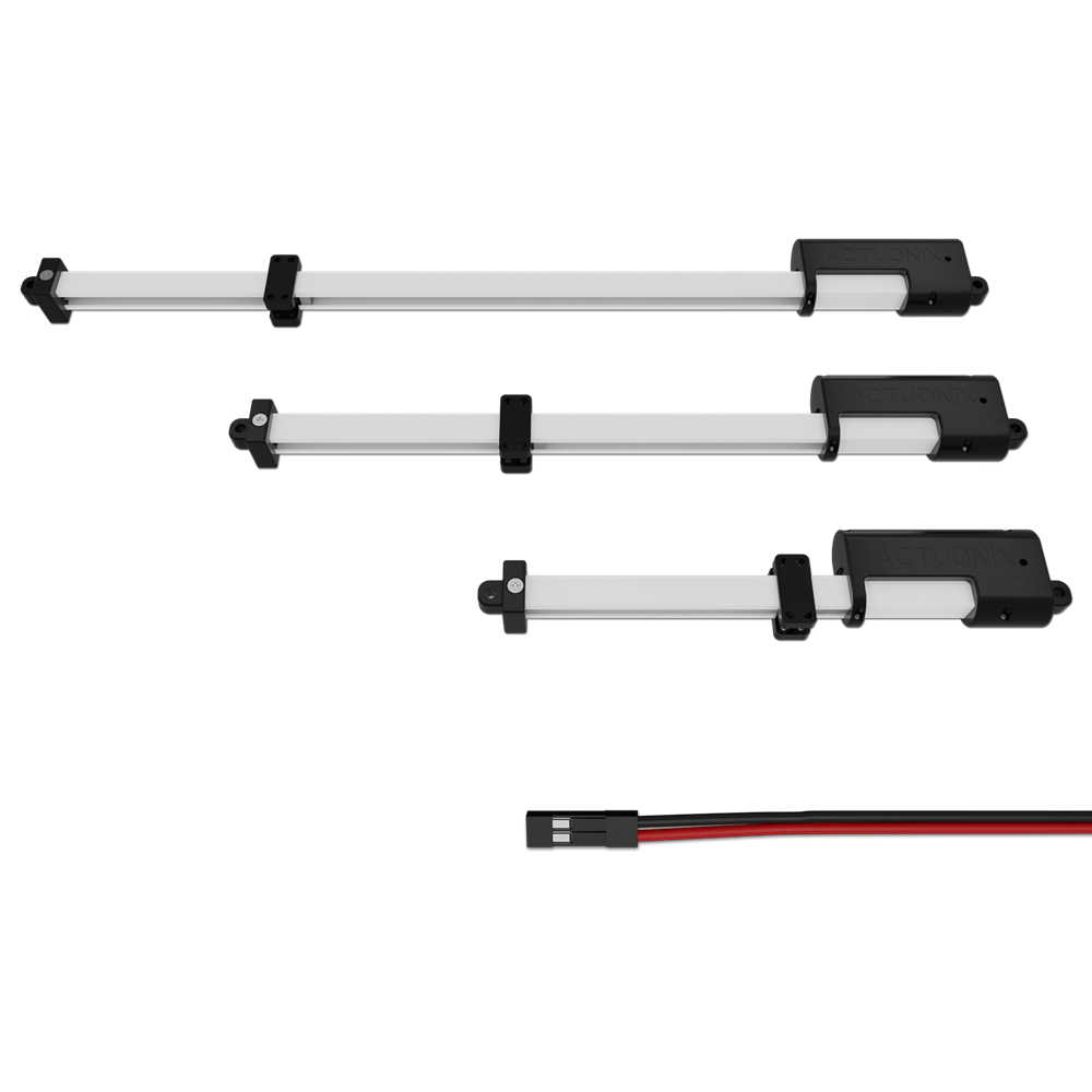 hight resolution of actuonix motion devices t16 linear track actuator with limit switches