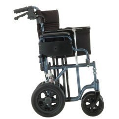 Transport Wheelchair Nova Executive Drafting Chair 332 Bariatric 22 Seat Aluminum