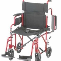 Transport Wheel Chair With Kneeler Nova Wheelchair 349 Lightweight Aluminum
