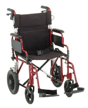 transport wheelchair nova best foldable lawn chair 352 lightweight