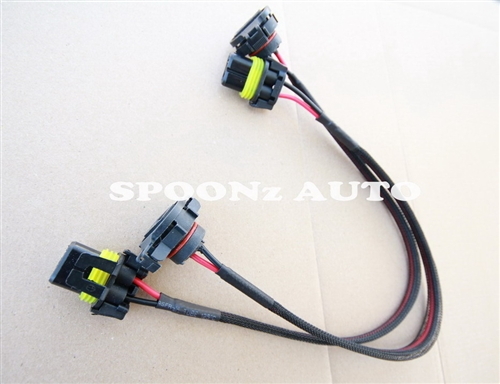 5202 9009 Bulb Electrical Connector Fog Light Wiring Harness Pigtail