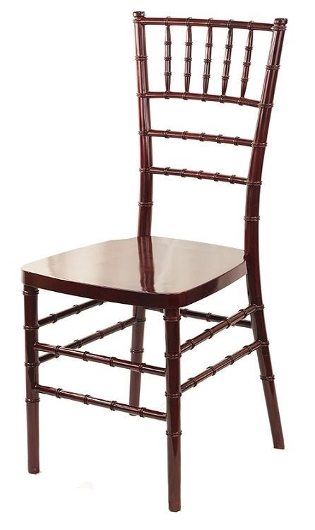 best chiavari chairs recliner chair repair singapore resin mahoganychair dallas prices stacking cart