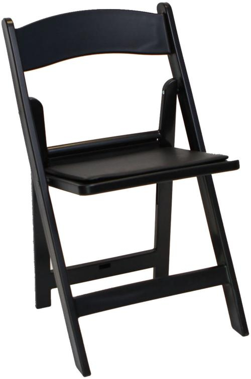 wholesale folding chairs portable chair lift resin padded black prices