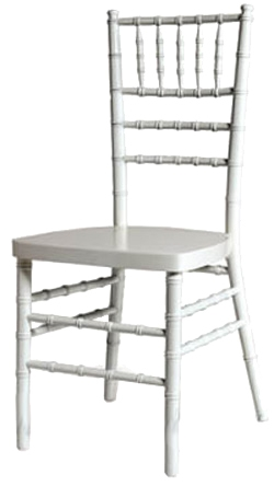 chiavari chairs wholesale western chair pads miami florida white stacking cart
