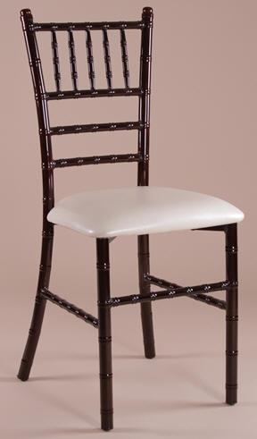 Mahogany Metal Chiavai Chair, Metal Tiffany Chairs