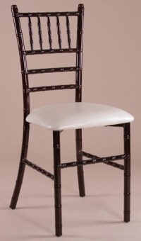 Mahogany Metal Chiavai Chair, Metal Tiffany Chairs