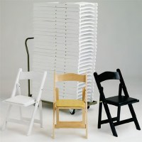 FOLDING CHAIRS: WOOD FOLDING CHAIRS, Los Angeles White ...
