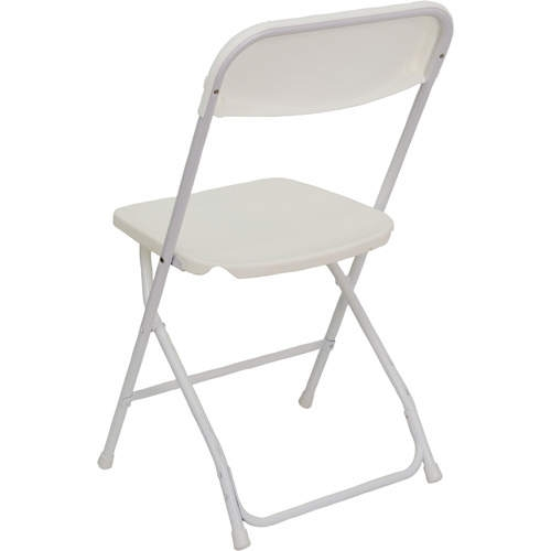 folding chair rental chicago 1930s rocking buy cheap chairs plastic stacking white poly
