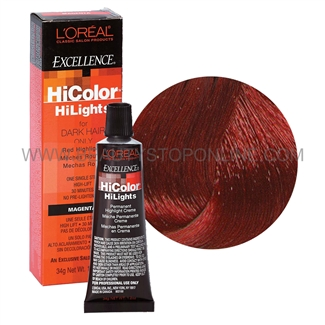 LOreal Excellence HiColor Red HiLights Red Beauty Stop
