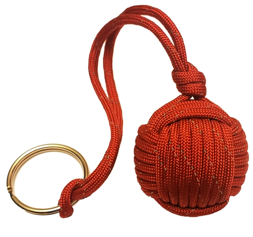 the floater monkey fist keychain