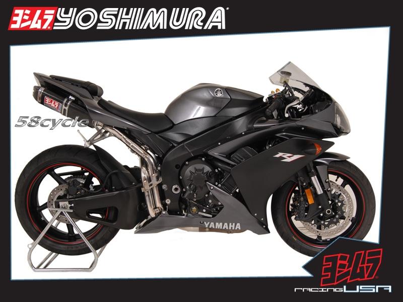 2007 2008 yamaha r1 yoshimura trc 3 4 full slip on half exhaust system