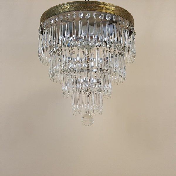 crystal chandelier tiered # 32
