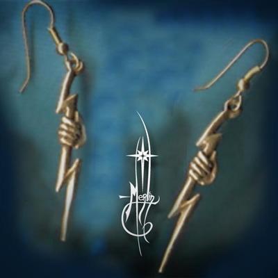 Hand of Zeus Earrings