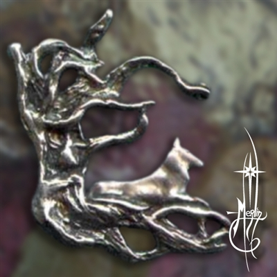 The Watchful Wolf Amulet