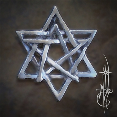 Merlin's Balanced Star Amulet