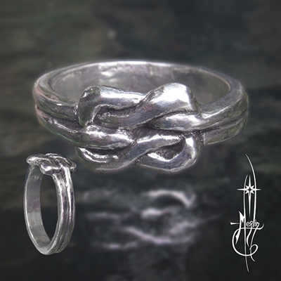 Celtic Lover's Knot Ring
