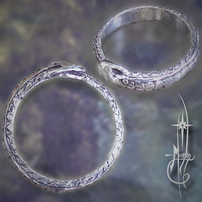 The New Ouroboros Ring with Scales