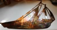 Sailboat, Sailing Metal Wall Art