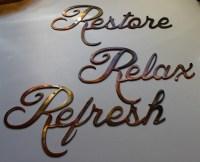 Metal Word Art | Wall Plate Design Ideas