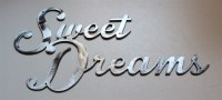 Sweet Dreams Metal Wall Art