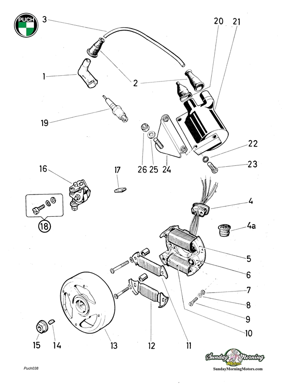 puch za50 wiring diagram