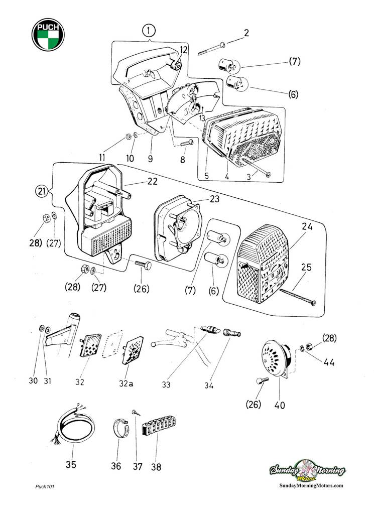 Pulse Scooter Battery Wiring Diagrams