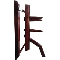 WING CHUN WOODEN DUMMY: Warrior - Compact Wall Mounted