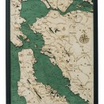 San Francisco Bay Depth Map San Francisco Bay Depth Chart