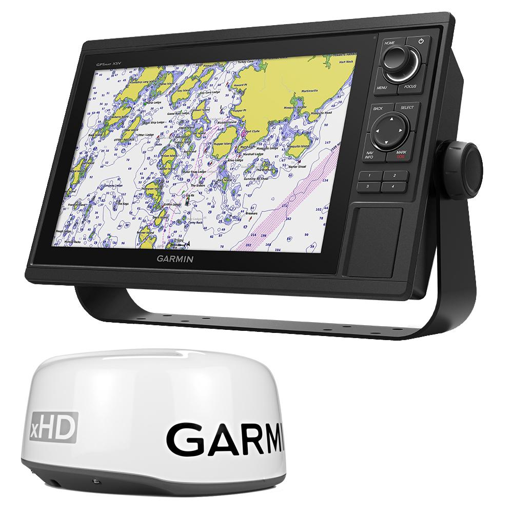 hight resolution of garmin gpsmap 1242xsv keyed networking combo no transducer w gmr 18xhd bundle