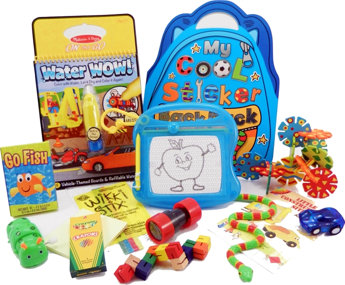 The Bag Travel Toys For 3 To 5 Year Old Boys Is Filled