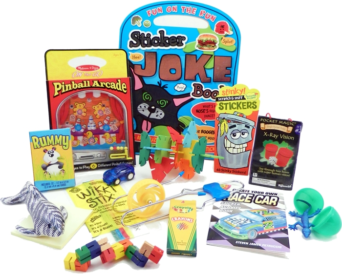 The Bag Travel Toys For 6 To 9 Year Old Boys Is Filled