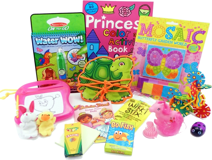 The Bag Travel Toys For 3 To 5 Year Old Girls Is