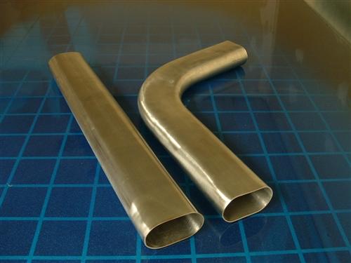 oval exhaust tubing