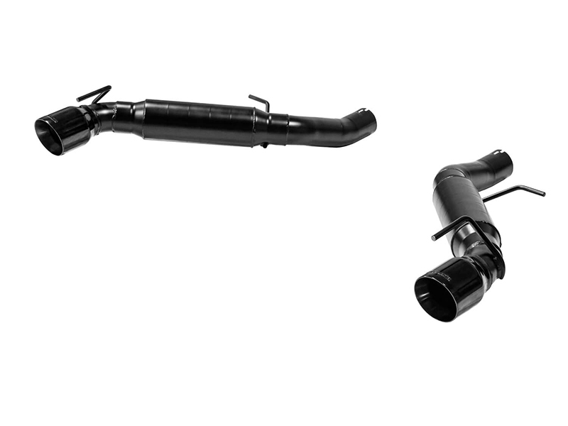 flowmaster outlaw axle back exhaust 2016 2021 camaro ss coupe w dual tips