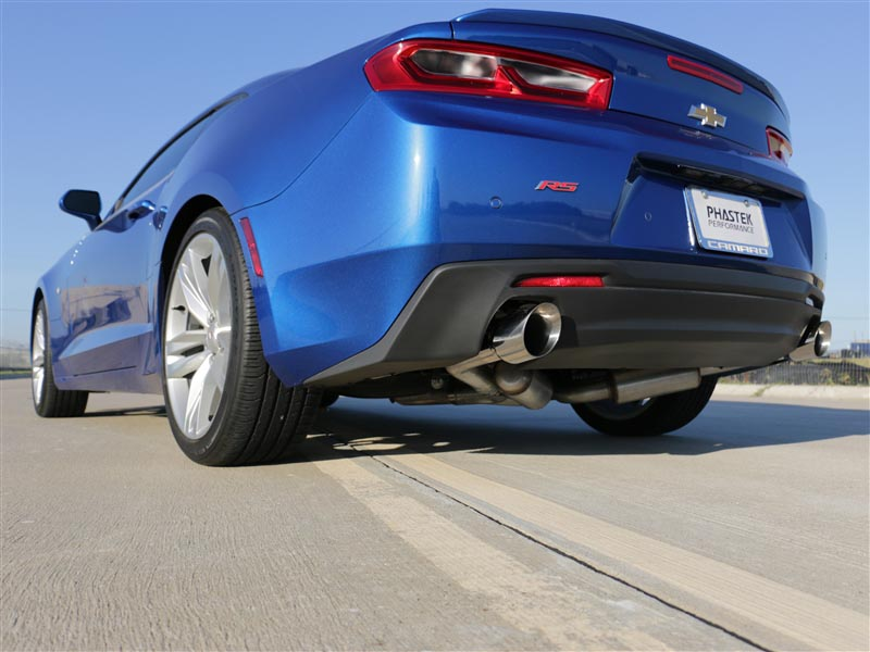 mbrp installer series 2 5 axle back exhaust system w 4 dual tips aluminized steel 2016 2021 camaro v6 3 6l 2 0t non npp