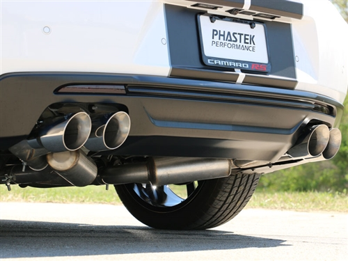 mbrp installer series 2 5 dual axle back exhaust system w 4 quad tips aluminized steel 2016 2021 camaro v6 3 6l npp