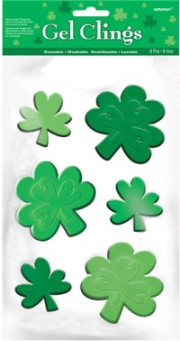 St. Patrick's Day Window Decoration - Small | Party supplies