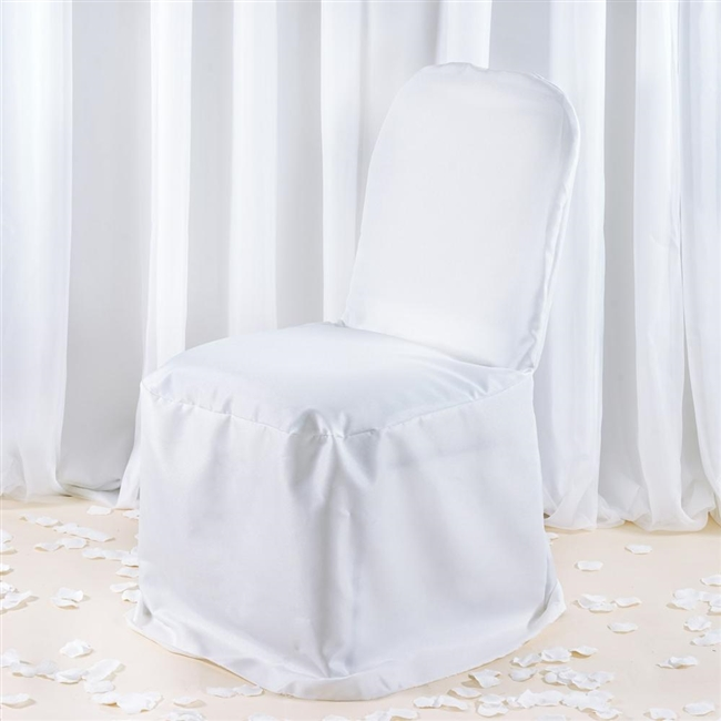 white banquet chair covers pink office ikea premium cover