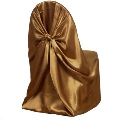 Gold Universal Chair Covers Desk Target Satin Cover