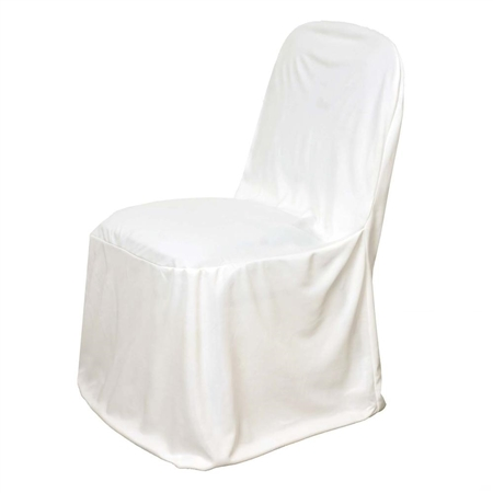 scuba chair covers wholesale dining table and 6 chairs argos stretch - ivory