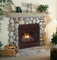 Firplaceinsert.com, FMI Products B Vent Gas Fireplace Cottage
