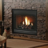 Kingsman Zero Clearance Direct Vent Gas Fireplace ...