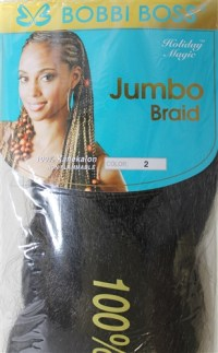 bobbi boss jumbo braiding hair bobby boss kanekalon dozen