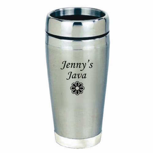 personalized stainless travel mug